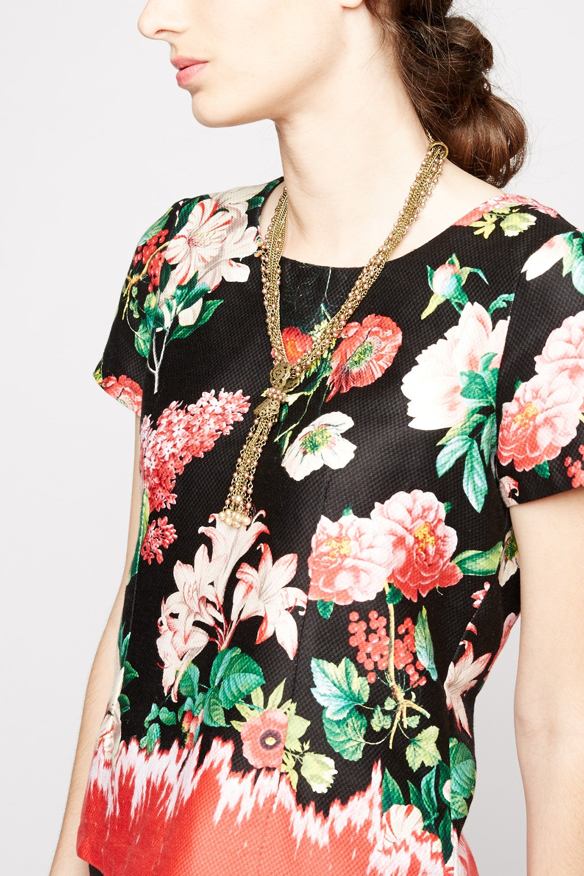 Astraeus Floral Print Top by Yumi
