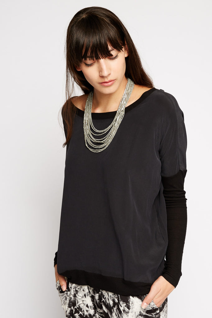 Libra Silk Dolman Top by Chaser