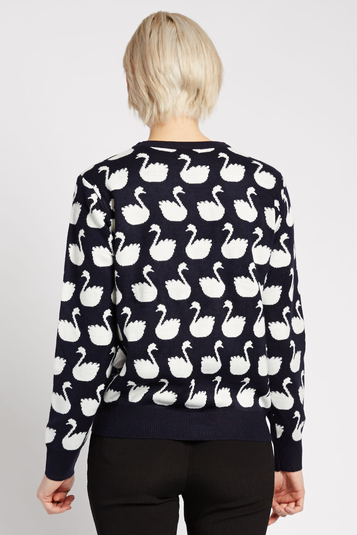 Kanti Swan Sweater by Kling