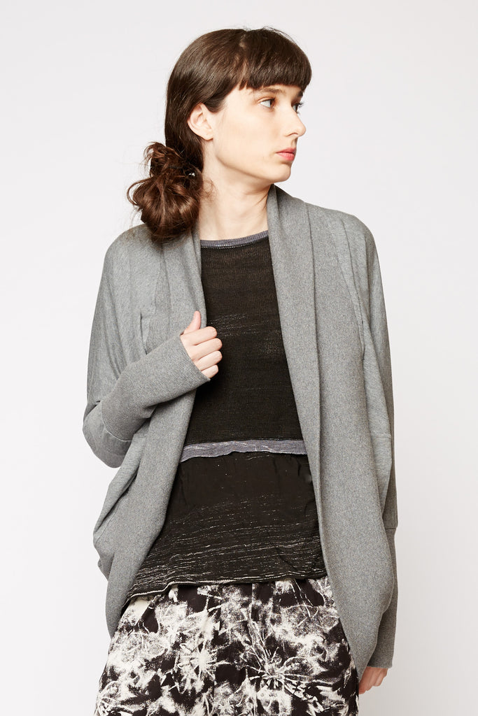 Tulle Open Shrug Cardigan