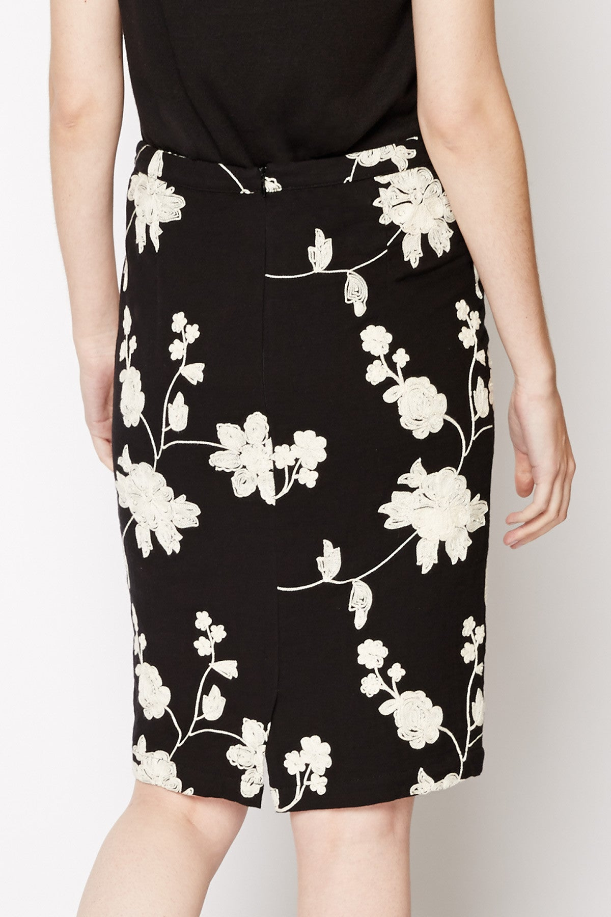 Thalassa Floral Pencil Skirt by Tulle