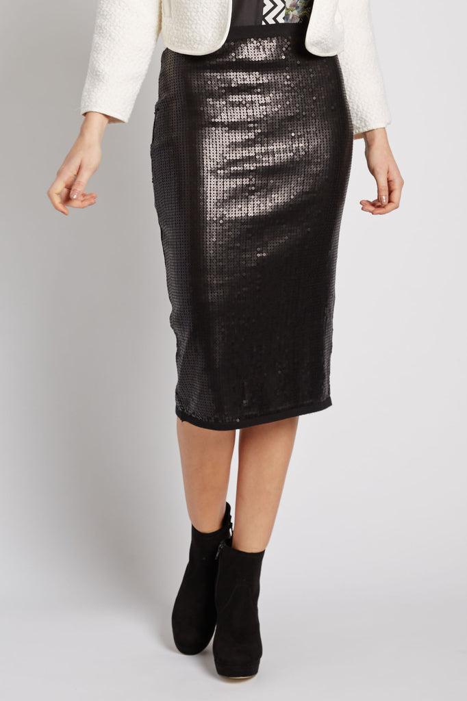 Sequin Pencil Skirt by Search for Sanity
