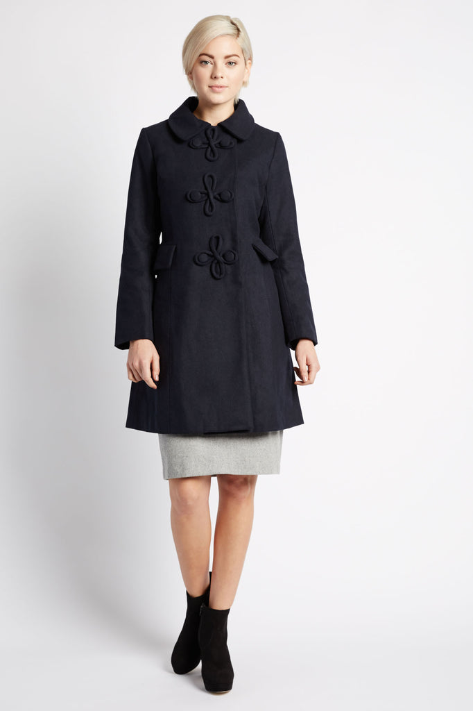 Aarya Pea Coat by Kling