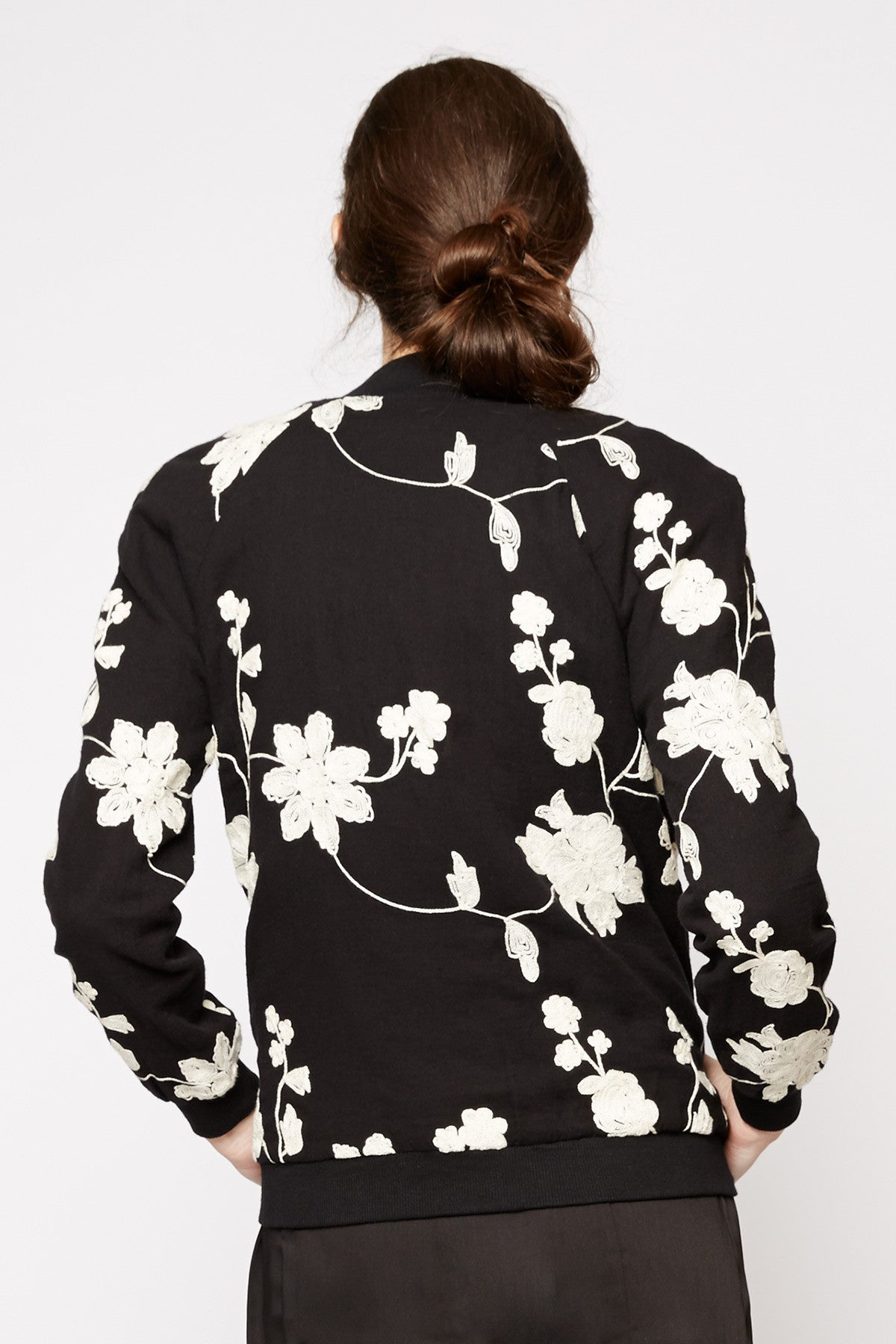 Thalassa Floral Bomber Jacket by Tulle