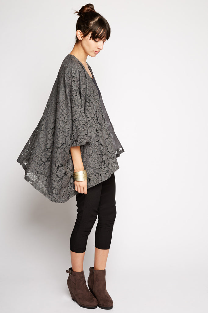 Hydrus Lace Kimono by Chaser