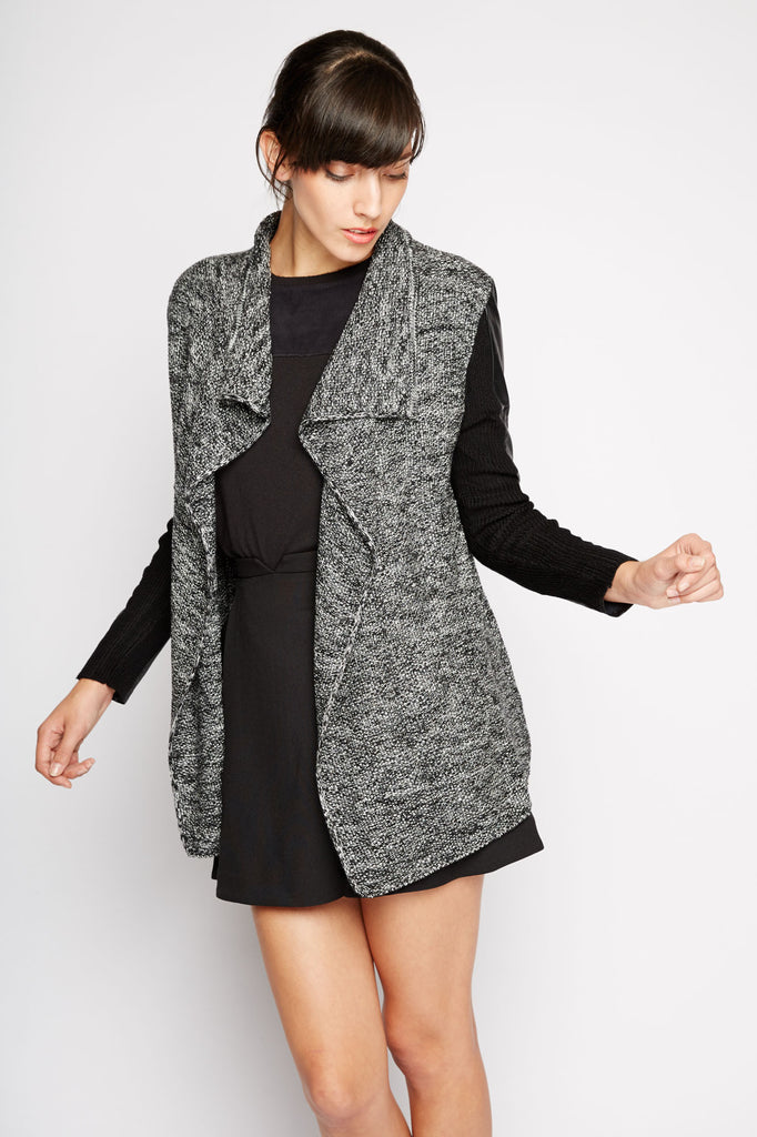 Gayatri Draped Jacket by Line and Dot