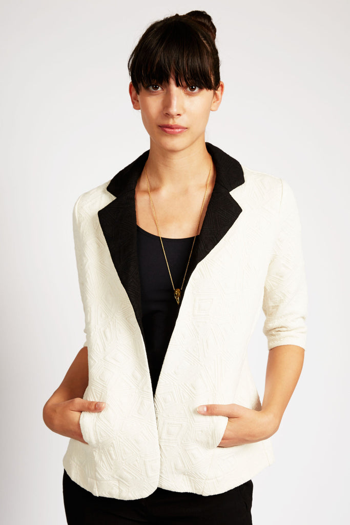 Ananke Quilted Blazer by Tulle