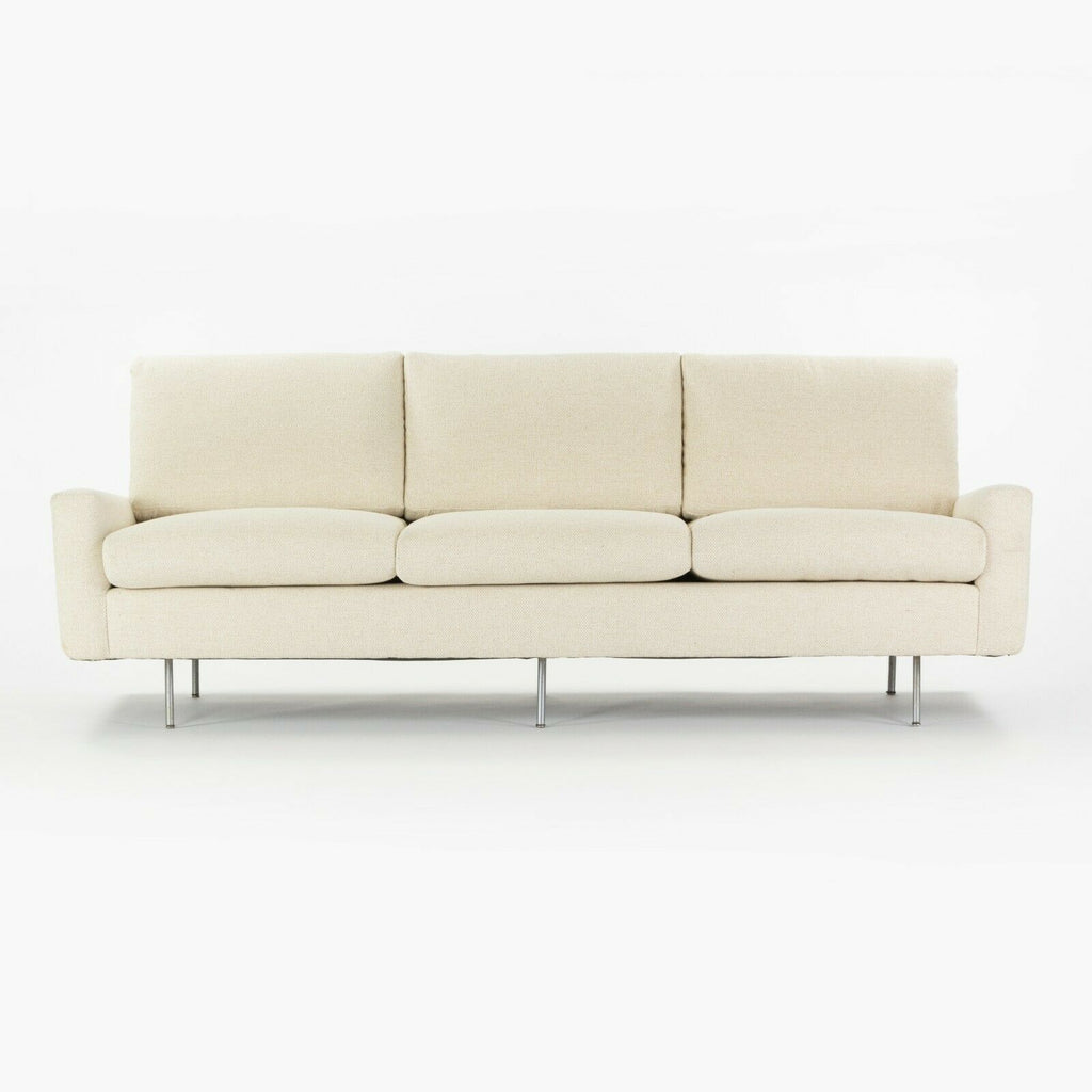 1949 Florence Knoll Associates 26 BC Upholstered 3-Seater Sofa New Upholstery