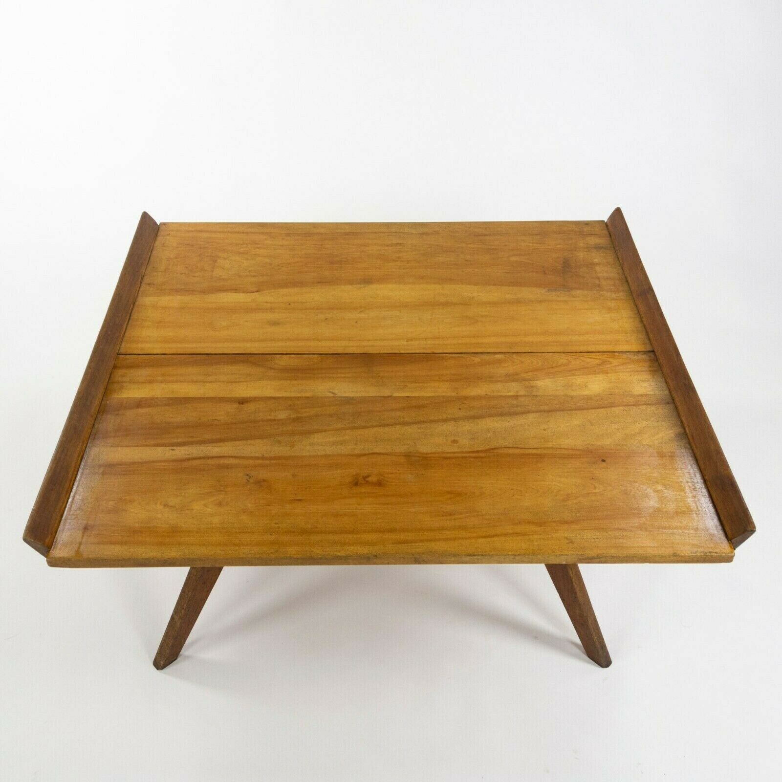 SOLD 1947 George Nakashima for Knoll Associates N10 Coffee Table in Birch and Walnut