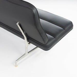 1964 Eames for Herman Miller 3473 Sofa with Brand New Black Upholstery
