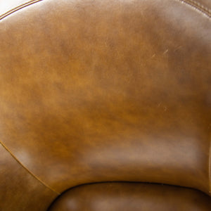 Poltrona Frau Brown Leather Luca Scacchetti Sinan Office Desk Chair Multiples Available
