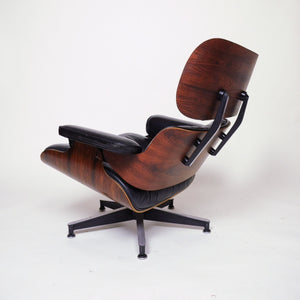 SOLD Herman Miller Eames Lounge Chair & Ottoman Rosewood 1970's
