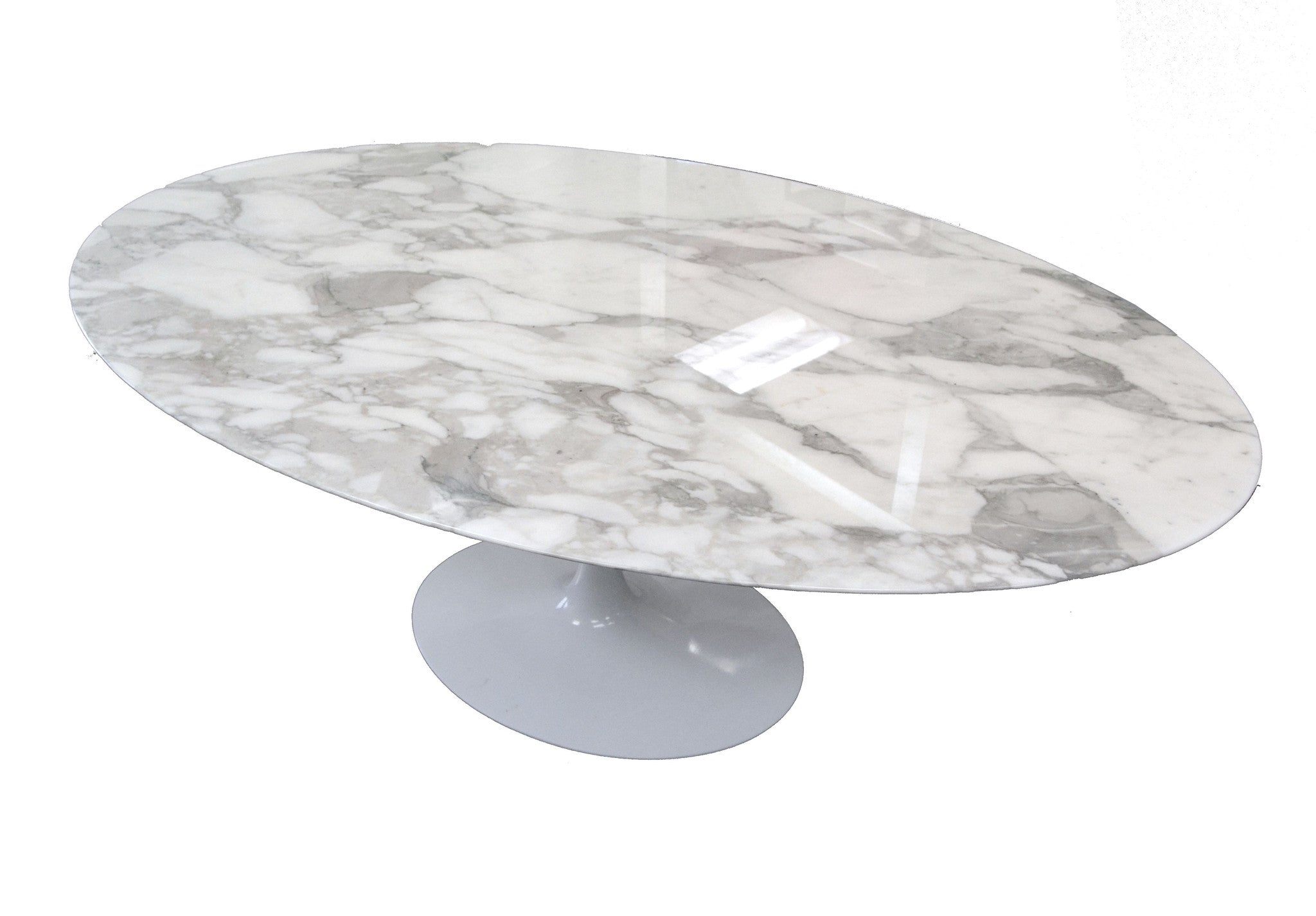 SOLD Eero Saarinen Knoll 78 Inch Conference / Dining Table Marble