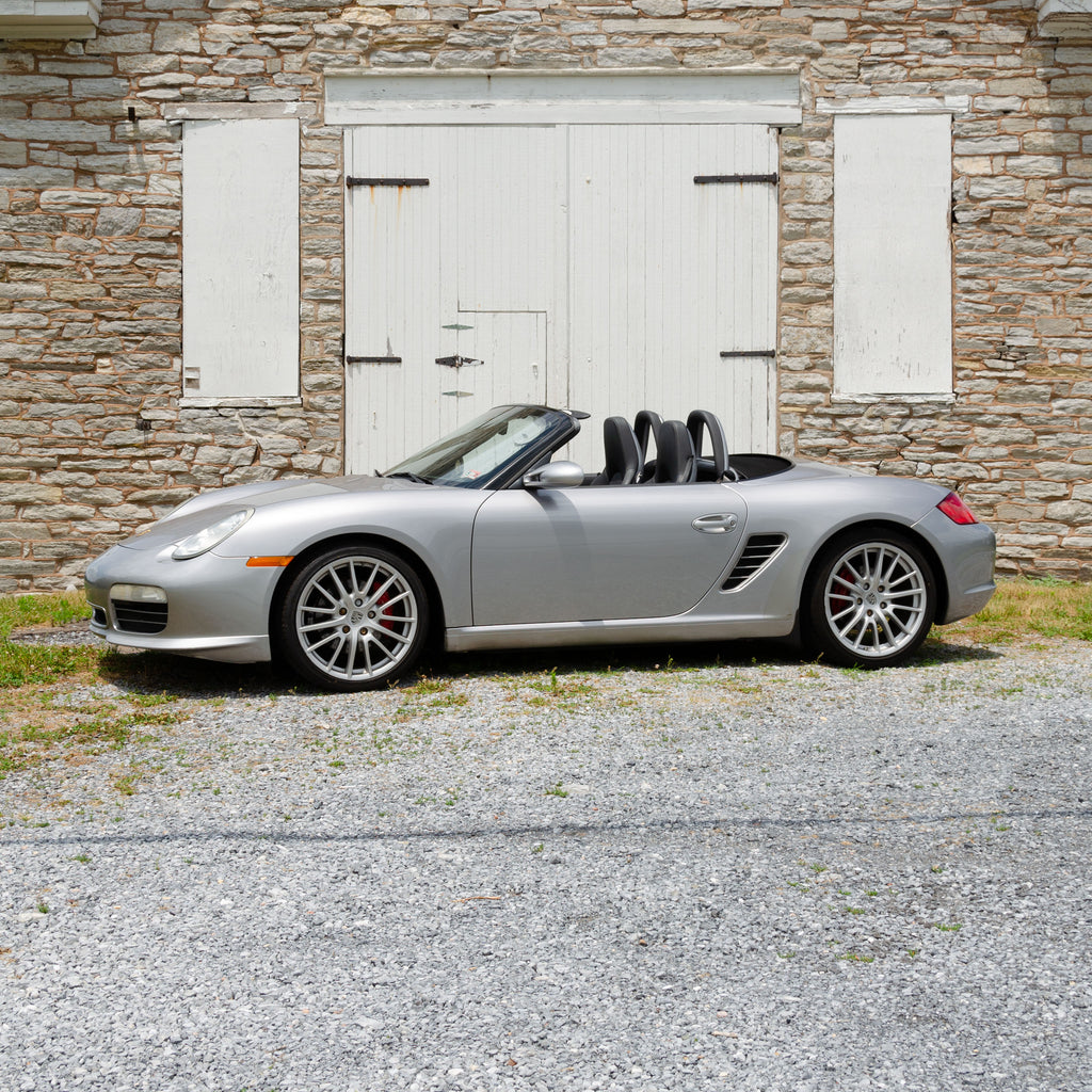 SOLD 2008 Porsche Boxster RS60 Spyder Limited Edition 900/1960 6-Speed Manual