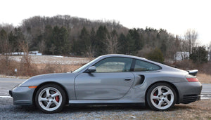 SOLD 2001 Porsche 911 Turbo Coupe 996