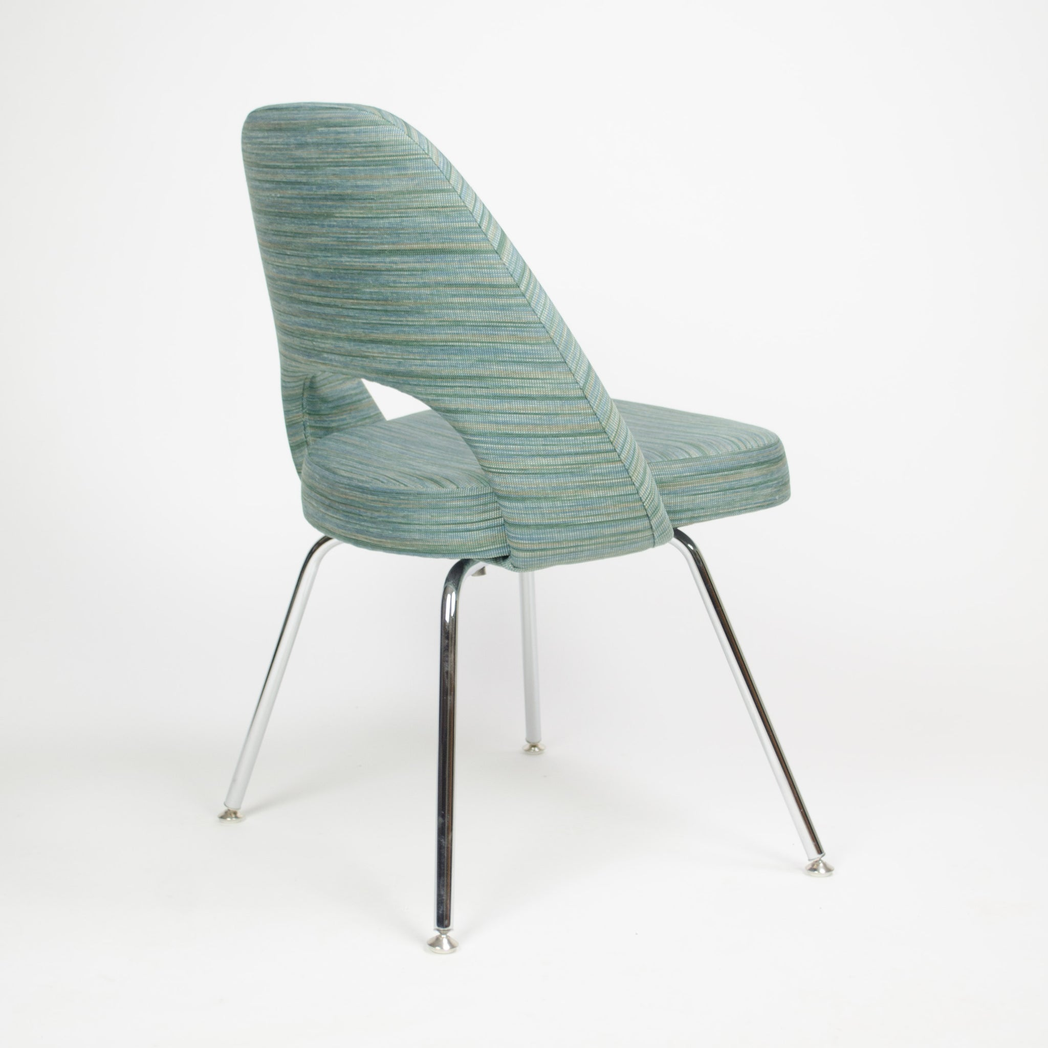 SOLD 2011 Knoll Eero Saarinen Armless Executive Chairs Fabric Sets Avail MINT!