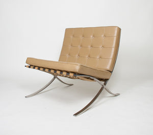 SOLD Knoll Mies Van Der Rohe Barcelona Chairs Stainless 2 Available