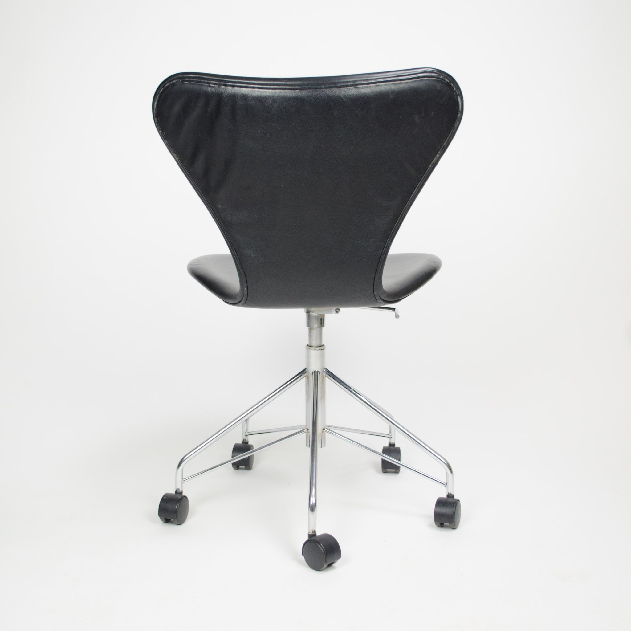 SOLD Arne Jacobsen 3117 for Fritz Hansen Denmark Rolling Desk Chair