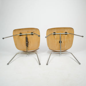 Pair of Eames for Herman Miller 1951 DCM Dining Chairs Maple Natural (Price for pair)