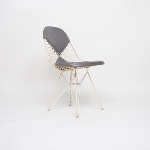 SOLD Eames Herman Miller Wire Eiffel Tower Bikini Chair White