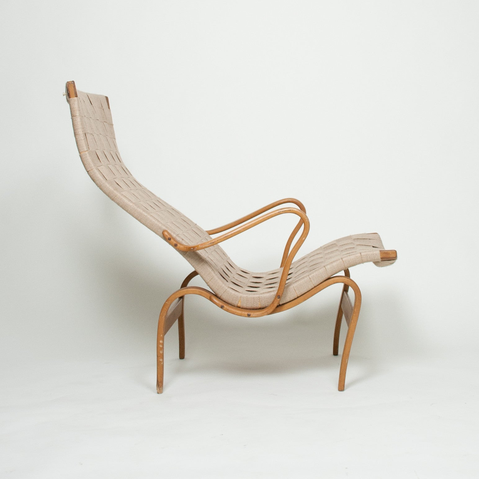 SOLD Bruno Mathsson Pernilla Lounge Chair Karl Mathsson Sweden