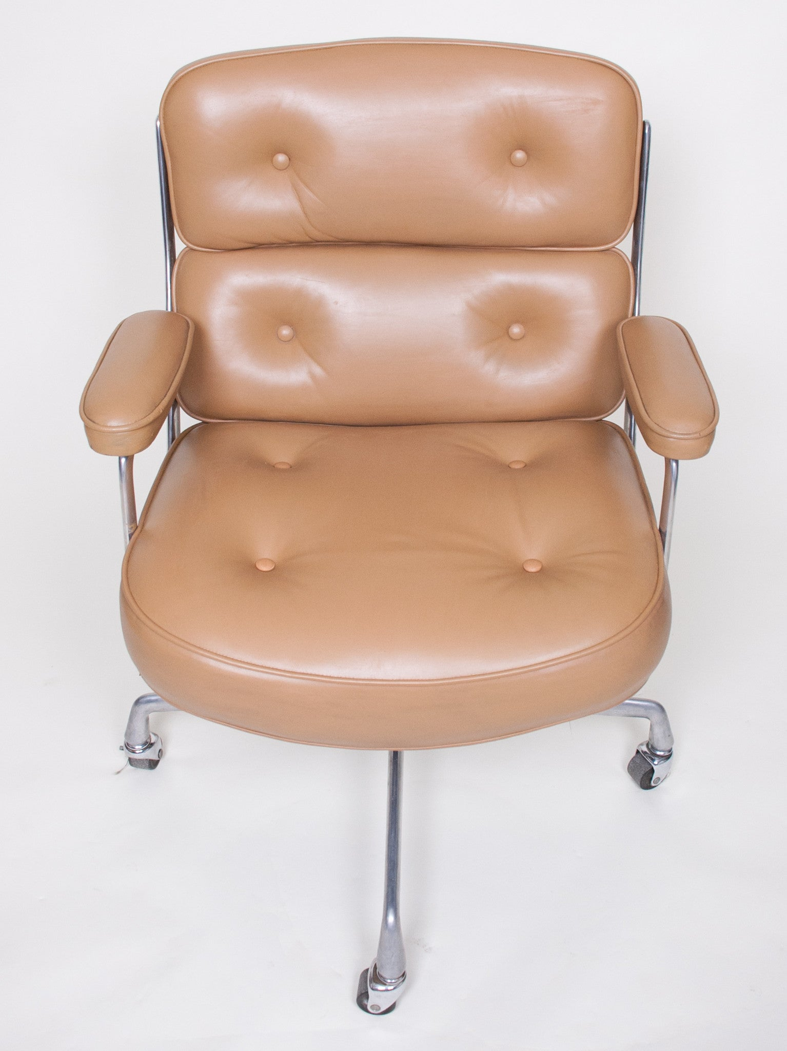 SOLD Early Eames Herman Miller Time Life Executive Aluminum Group Chair