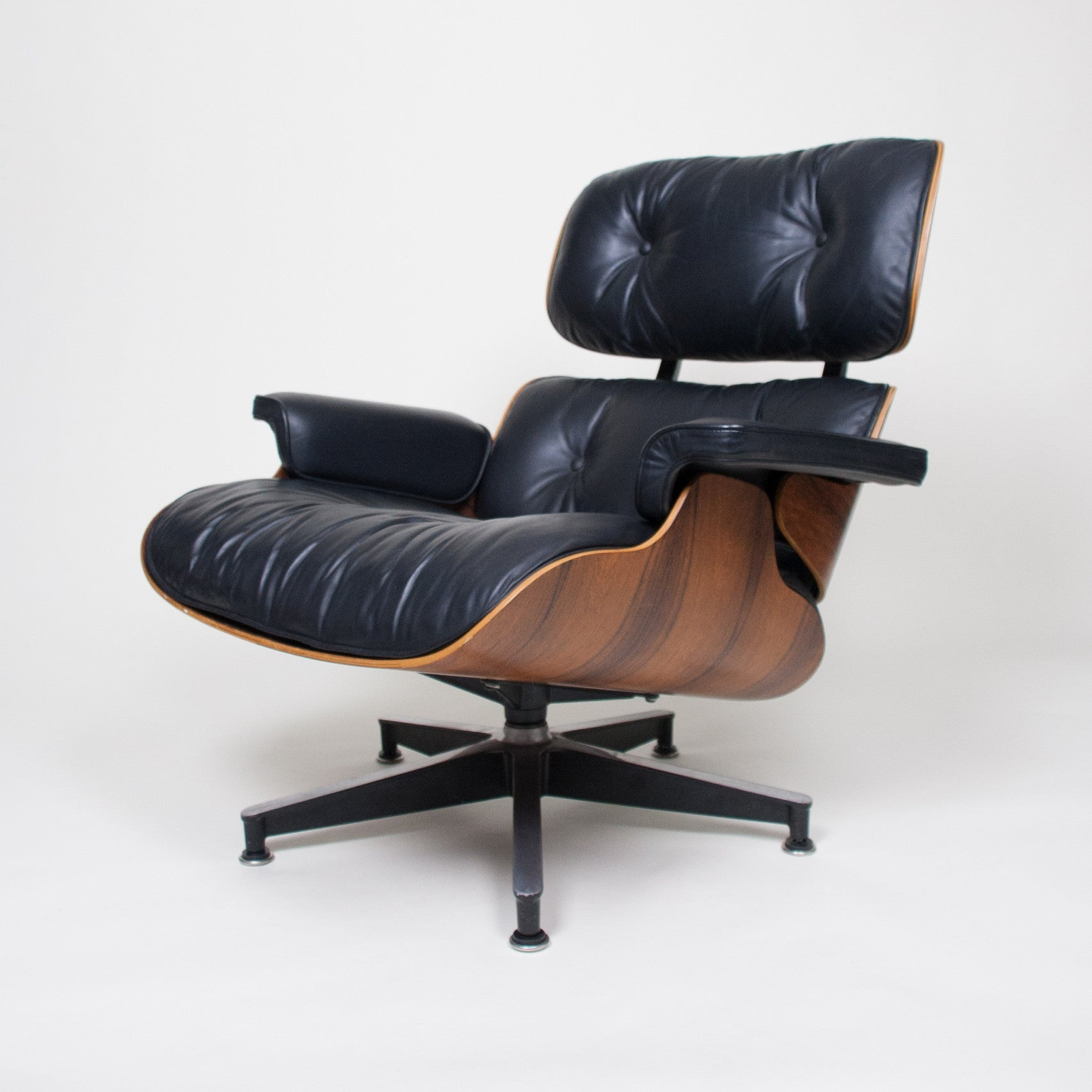SOLD Herman Miller 1970's Eames Lounge Chair & Ottoman Rosewood 670 671