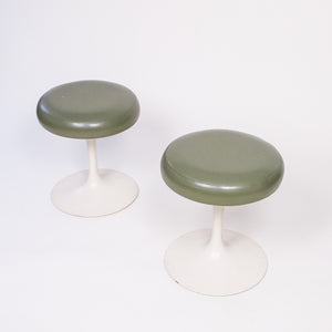 SOLD Eero Saarinen Knoll Tulip Swivel Stools BR51 (1 Available)