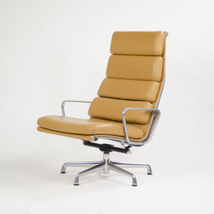SOLD Eames Herman Miller High Soft Pad Aluminum Group Lounge Chair Leather MINT!
