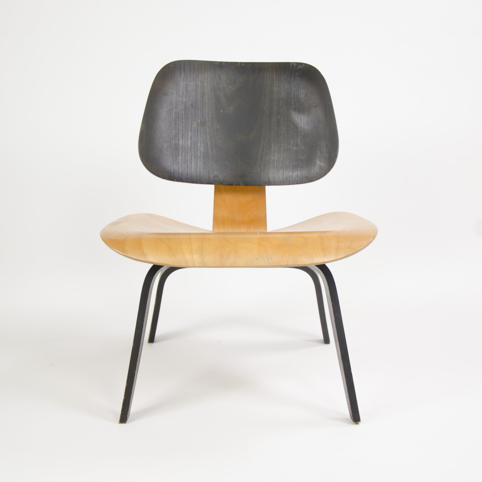 SOLD Eames Evans Herman Miller 1947 LCW Plywood Lounge Chair Original Museum Quality