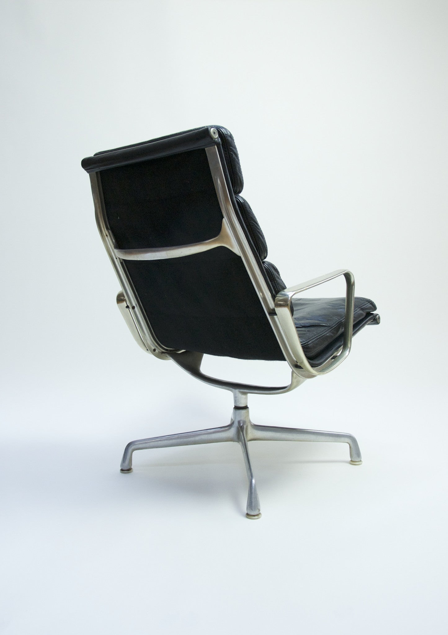 SOLD Eames Herman Miller Soft Pad Lounge Chair #1