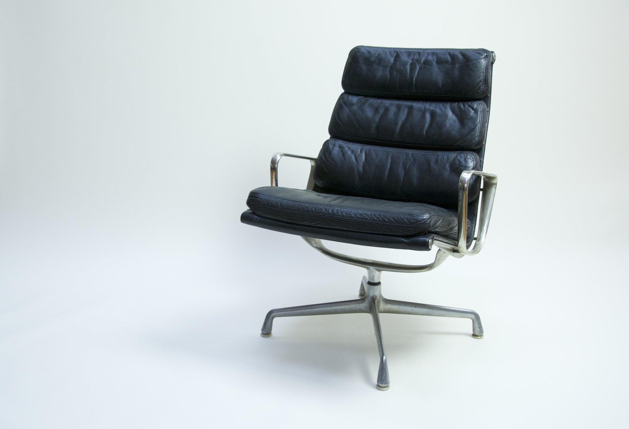 SOLD Eames Herman Miller Soft Pad Lounge Chair #2