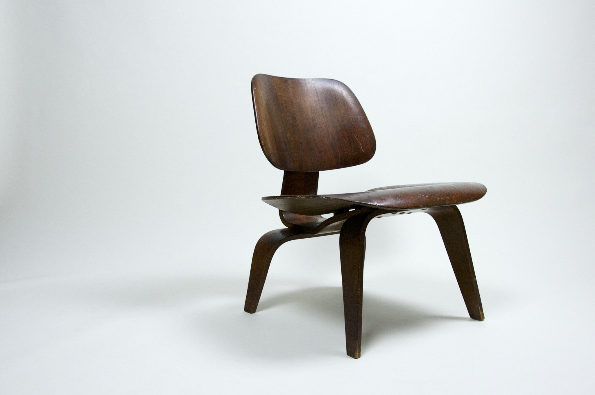 SOLD 1947 Eames Evans LCW Lounge Chair