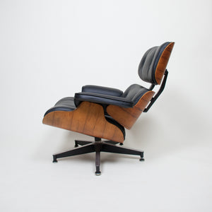 SOLD 1970's Herman Miller Eames Lounge Chair & Ottoman Rosewood 670 671 New Cushions