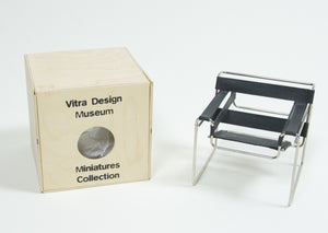 SOLD Vitra Miniature Marcel Breuer Wassily Chair New In Box