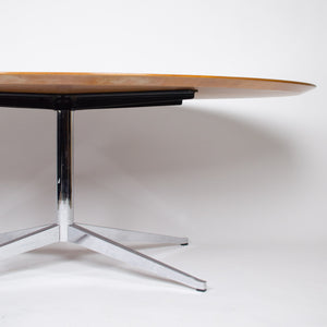 SOLD Florence Knoll Vintage 78 Inch Conference / Dining Table Teak