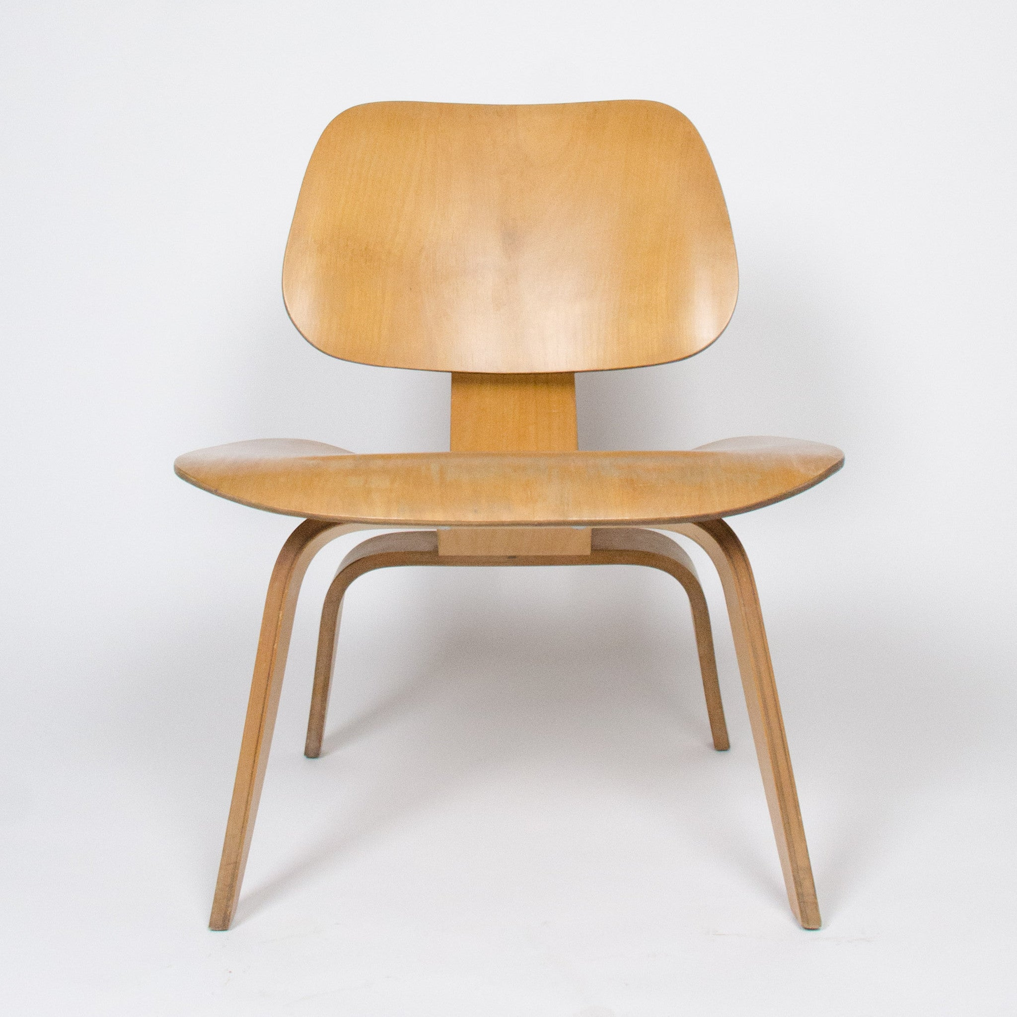 SOLD Eames Herman Miller 1951 LCW Plywood Lounge Chair Original Calico Ash Mint!
