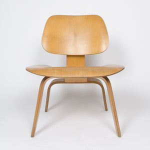 Eames Herman Miller 1951 LCW Plywood Lounge Chair Original Calico Ash Mint!