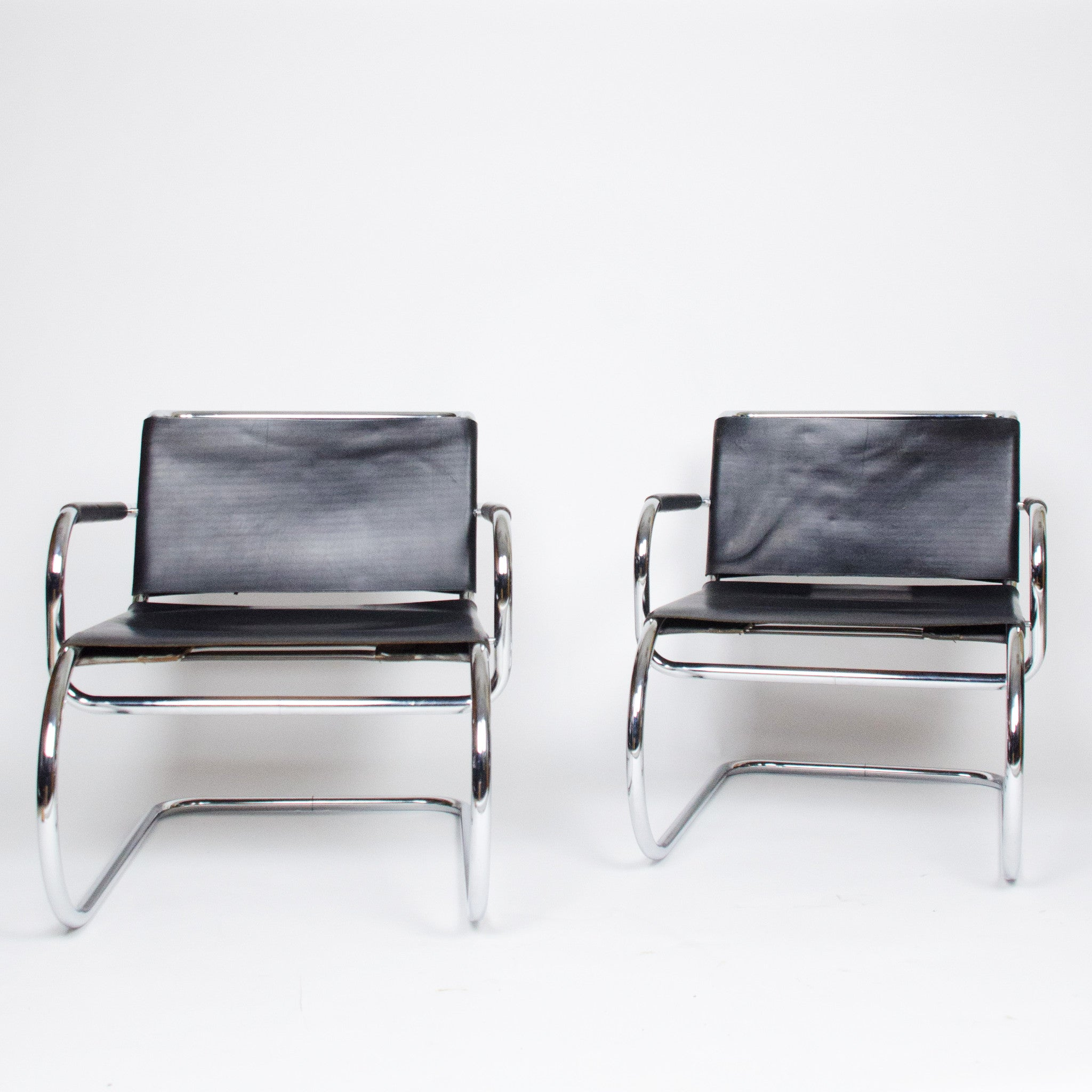 Franco Albini Tecta Cassina Rare 1933 Lounge Chairs – D ROSE MOD