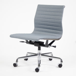 SOLD Pneumatic Eames Herman Miller Low Back Aluminum Group Chair