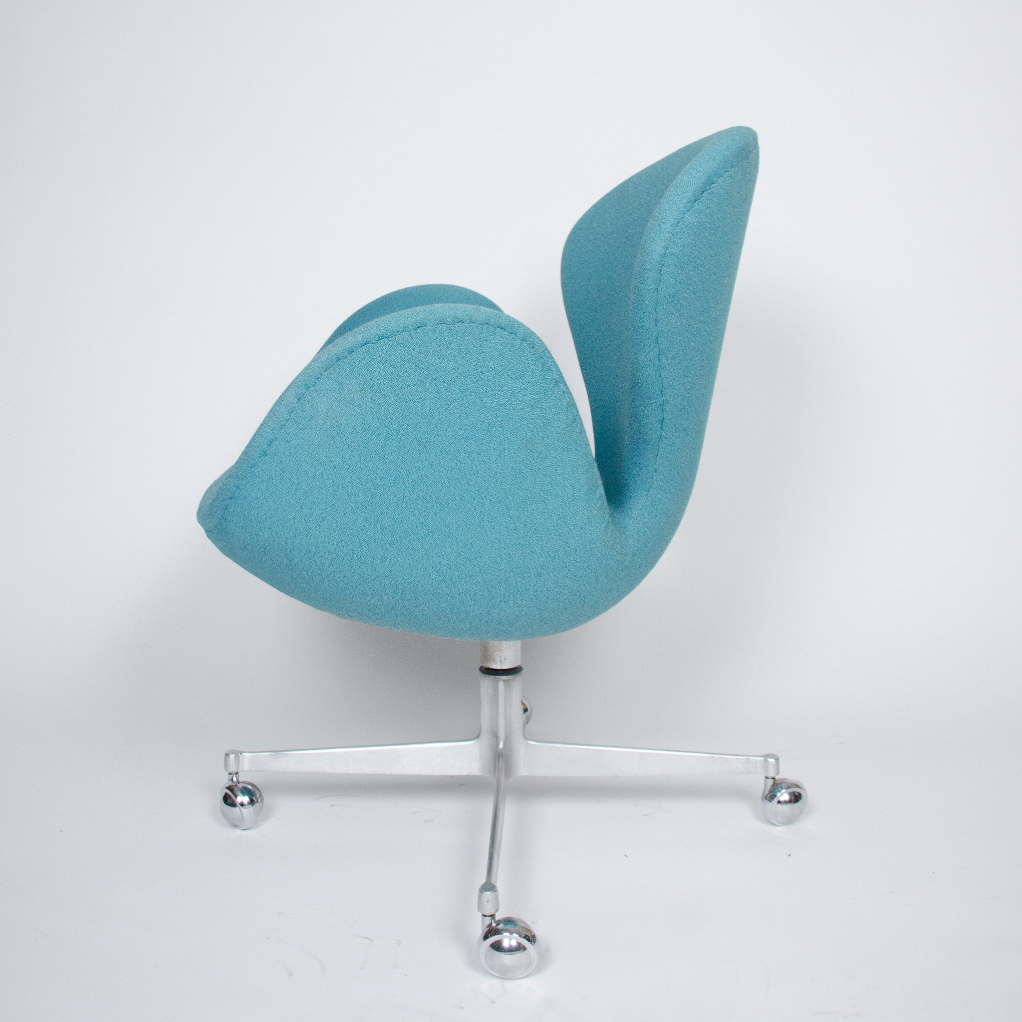 SOLD Arne Jacobsen for Fritz Hansen Denmark Swan Rolling Desk Chair