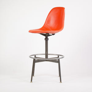 SOLD Herman Miller Eames Fiberglass Drafting Side Shell Chair Late 1950's