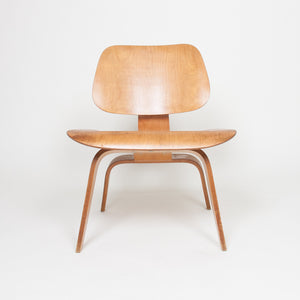 SOLD Eames Evans Herman Miller Early 1947 LCW Plywood Lounge Chair Original Ash 5-2-5