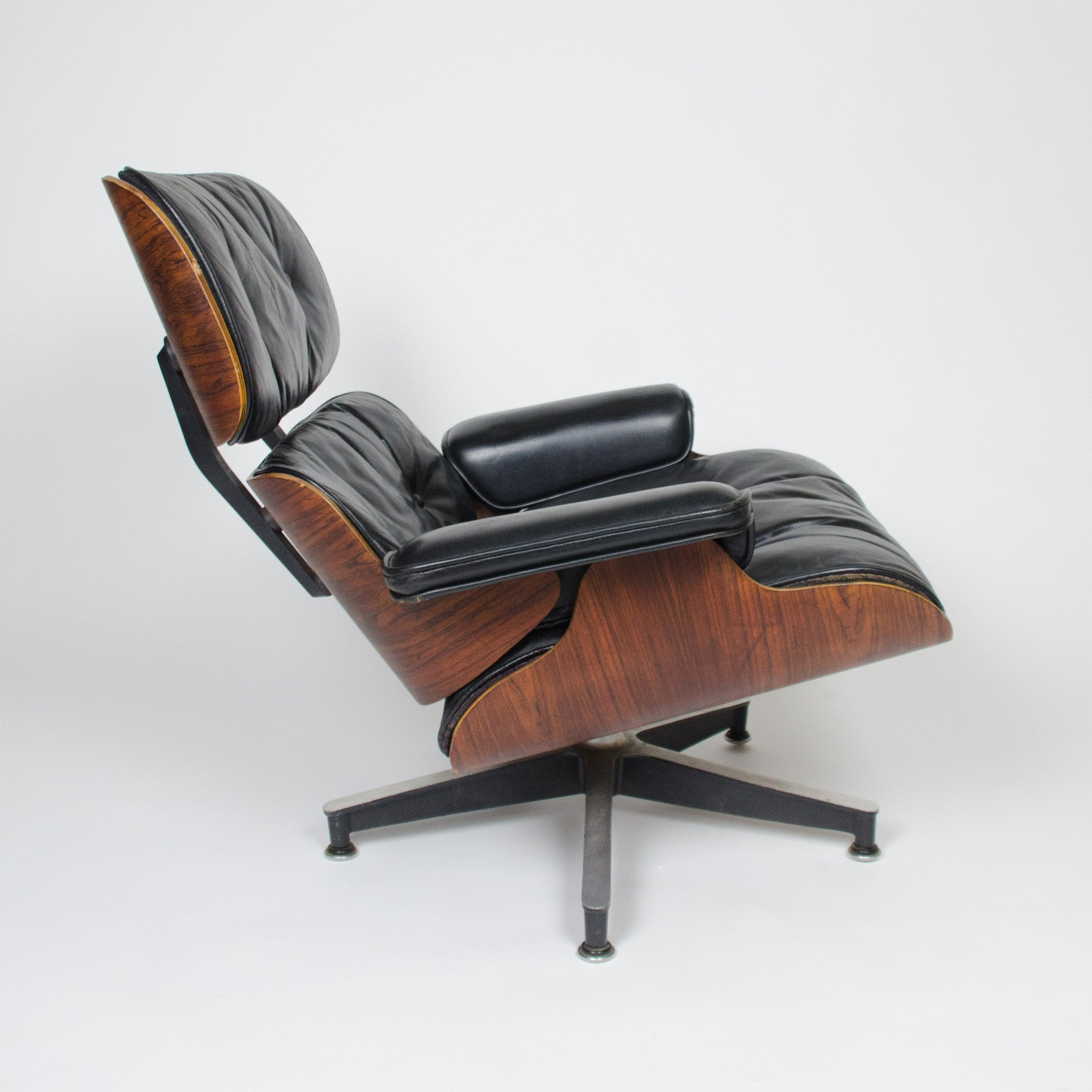 SOLD Holy Grail 1956 Herman Miller Eames Lounge Chair With Swivel Ottoman