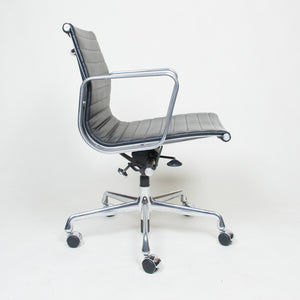 SOLD Eames Herman Miller Low Back Aluminum Group Chairs 2 Available