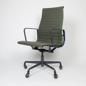 Eames Herman Miller Fabric High Executive Aluminum Group Desk Chairs (2 available)