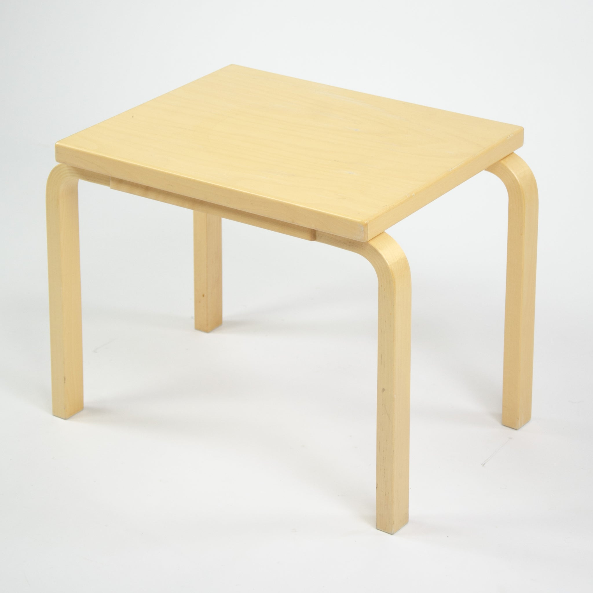 SOLD Alvar Aalto Nesting Table 88 by Artek in Birch