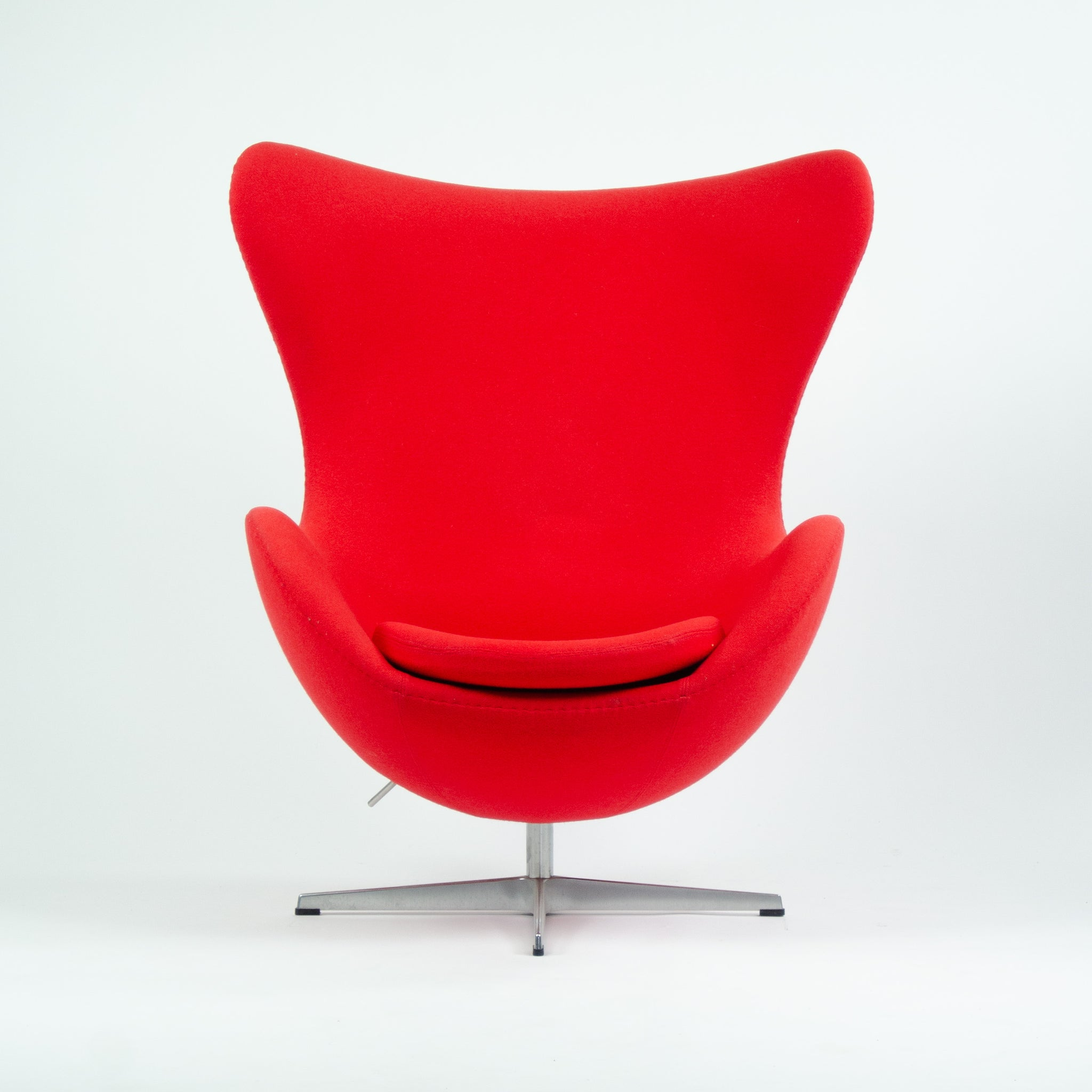 SOLD Arne Jacobsen Egg Chairs for Fritz Hansen Original Fabric Denmark