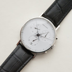 SOLD Georg Jensen No. 317 38mm Henning Koppel Chronograph Swiss / Danish
