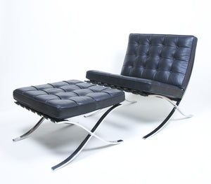 Superbe SOLD Knoll Stainless Steel Barcelona Chair And Ottoman